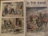 LE PETIT JOURNAL 1908 N 902 LES INCIDENTS D'ETHIOPIE - LES ANARCHISTE