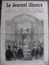 LE JOURNAL ILLUSTRE 1877 N 50 LE MONUMENT DE M FELIX POUCHET