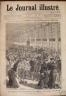 LE JOURNAL ILLUSTRE 1877 N 2 LE DEPART DES CONSCRITS 1876