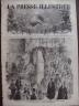 LA PRESSE ILLUSTREE 1872 N 243 INVESTITURE DU LORD MAIRE LONDRES
