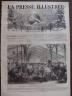 LA PRESSE ILLUSTREE 1872 N 226 LA BOURSE DES MARCHANDS D'HABITS