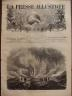 LA PRESSE ILLUSTREE 1872 N 214 LE VESUVE ERUPTION D' AVRIL 1872