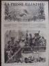 LA PRESSE ILLUSTREE 1872 N 223 UNE FÊTE FORAINE A PARIS