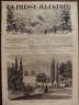 LA PRESSE ILLUSTREE 1872 N 210 L'AFFAIRE DE LA RUE HAXO