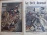 LE PETIT JOURNAL 1909 N 995 ATTENTAT CONTRE LE GENERAL VERAND