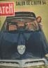 PARIS MATCH 1954 LE SALON DE L'AUTO -
