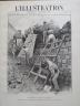 L' ILLUSTRATION 1900 N 3009 EN CHINE: LE SIEGE DES LEGATIONS DE PEKIN