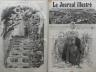 LE JOURNAL ILLUSTRE 1865 N 86 - LE GENERAL JUAN PRIM. SOLDAT ET POLITICIEN