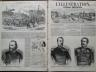 L'ILLUSTRATION 1859 N 849 LE GENERAL GEORGES BEURET - LE GENERAL FREDERIC FOREY