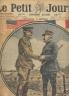LE PETIT JOURNAL SUPPLEMENT ILLUSTRE 1918 N° 1451 Mchal FOCH et PERSHING