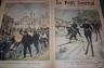LE PETIT JOURNAL N° 587 UN ENTERREMENT A BYCICLETTE