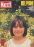 PARIS MATCH 1988 N 2051 LA PETITE DELPHINE SON DESTIN