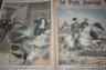 LE PETIT JOURNAL 1895 n 251 ATTENTAT A LA BANQUE ROTHSCHIL