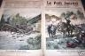LE PETIT JOURNAL 1891 N 31 ACCIDENT DE CHEMIN DE FER