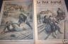 LE PETIT JOURNAL : 1909 N 952 DEVOUEMENT D'UN GARDE- BARRIERE