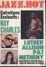 JAZZ- HOT 1981 N 385 RAY CHARLES - LUTHER ALLISON