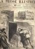 LA PRESSE ILLUSTREE 1879 N 582 ASSASSINAT RUE DE FLANDRE