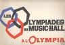 LES OLYMPIADES DU MUSIC- HALL 1965 A L'OLYMPIA