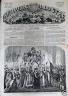 L'UNIVERS ILLUSTRE 1862 N 214 CEREMONIE A ROME